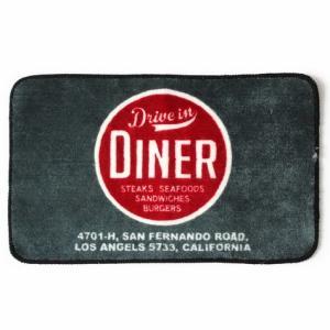 フロアマット(Diner2) インテリア アメリカ雑貨 アメリカン雑貨|texas4619