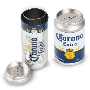 コロナ ミニ缶型ソルト&ペッパー 塩コショウ Corona キッチン|texas4619