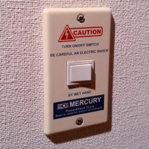 スイッチプレート 1ヶ口(アイボリー) マーキュリー MERCURY アメリカ雑貨 アメリカン雑貨 texas4619