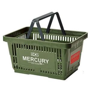 MERCURY マーケットバスケット(カーキ) 買い物かご マーキュリー アメリカ雑貨 アメリカン雑貨 texas4619