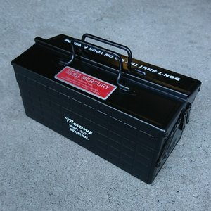 ツールボックスPRO(マットブラック) 工具箱 マーキュリー MERCURY アメリカ雑貨 アメリカン雑貨|texas4619