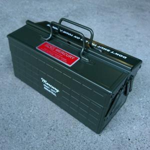 ツールボックスPRO(カーキ) 工具箱 マーキュリー MERCURY アメリカ雑貨 アメリカン雑貨|texas4619