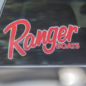 Ranger BOATS ビッグウィンドウデカール(D) バスフィッシング 釣り アメリカ雑貨 アメリカン雑貨|texas4619