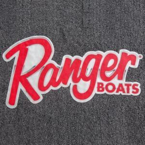 Ranger BOATS カーペットデカール(B) バスフィッシング 釣り アメリカ雑貨 アメリカン雑貨|texas4619