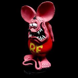 ラットフィンク スタンディングスタチュー ピンク RAT FINK フィギュア アメリカ雑貨 アメリカン雑貨|texas4619
