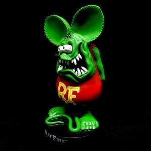 ラットフィンク スタンディングスタチュー グリーン RAT FINK フィギュア アメリカ雑貨 アメリカン雑貨|texas4619