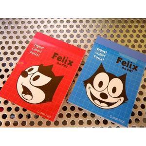 フィリックス ミニメモ帳(2冊セットA) FELIX 文具 アメリカ雑貨 アメリカン雑貨|texas4619