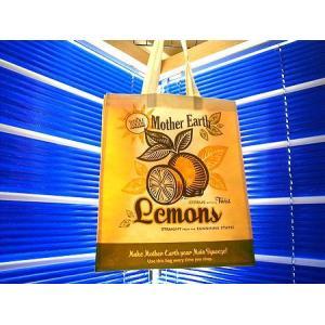 WHOLE FOODS MARKET(ホールフーズマーケット) エコバッグ (LEMON) アメリカ雑貨 アメリカン雑貨|texas4619