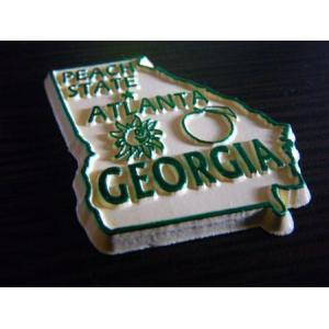 アメリカ 州型マグネット(ジョージア州) アメリカ雑貨 アメリカン雑貨 texas4619