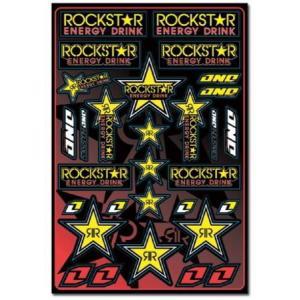 ROCKSTAR ENERGY(ロックスターエナジー) ステッカーセットA アメリカ雑貨 アメリカン雑貨|texas4619