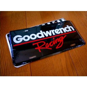 コマーシャルプレート(GOODWRENCH RACING) グッドレンチ 看板 インテリア アメリカ雑貨 アメリカン雑貨 texas4619