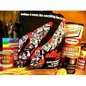 Kellogg's ケロッグス ROOTOTE トートバック(ブラック) アメリカ雑貨 アメリカン雑貨|texas4619