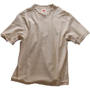 Tシャツ メンズ 半袖 オーガニックコットン 吊天竺 生成(きなり)