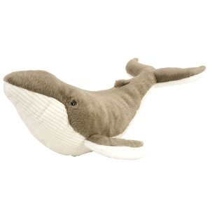 子供から大人まで引き込まれる素晴らしいの水族館をテーマにしたザトウクジラのぬいぐるみは、生き物への関...