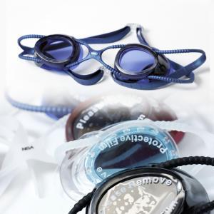 水泳 ゴーグル ダブルベルト仕様 UVカット スイミング 4カラーg849|tfashion