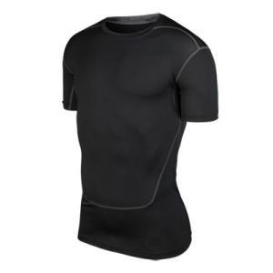 スポーツインナー アンダーシャツ メンズ  半袖 トレーニングウェアs508|tfashion