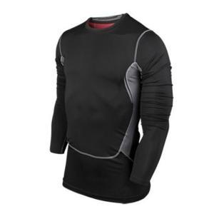 スポーツインナー アンダーシャツ メンズ  長袖 トレーニングウェアs510|tfashion