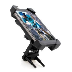 スマホホルダー バイク用 自転車 ホルダー スマートフォン iPhone 携帯電話 ハンドル 四角固定 角度調整可能 tfashion