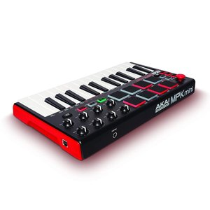 Akai Professional USB MIDIキーボードコントローラー 8パッド MPK mini MK2|tfizy45931