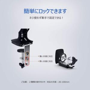 FLEXIMOUNTS モニターアーム 液晶ディスプレイアーム ガススプリング式 4軸 10-27イ...