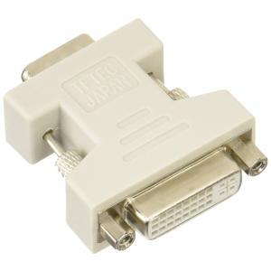 変換名人 VGA(オス) → DVI(メス)変換アダプタ VGAA-DVIBN