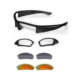 Sumeber 骨伝導メガネ Bluetooth サングラス ヘッドセット 無線 音楽ステレオ ワイヤレス スポーツイヤホン カット・防眩効|tfizy45931