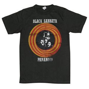 ブラックサバス/BLACK SABBATH/パラノイド/PARANOID/チャコール/ロックTシャツ...