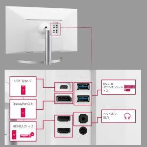 LG モニター ディスプレイ 27UL850-W 27インチ/4K/DisplayHDR400/IP...