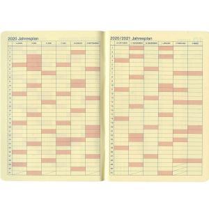 B6 月間 ブロック+ログチャート ロルバーンノートダイアリーイェロー2019年10月から 1