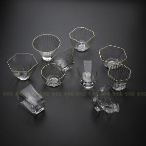 茶杯 おうち用 中国茶器 茶道具 茶器 透明 コップ 10種類 コーヒー お茶
