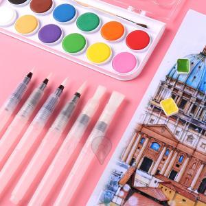 水筆 水筆ペン 3本セット 6本セット フィス水筆ウォーターブラシ 水彩画用筆 細筆 中筆 太筆 平...