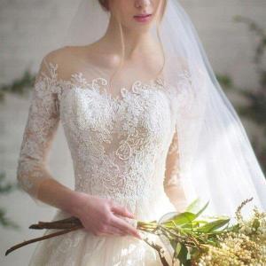 ウェディングドレス/結婚式/二次会/ホワイト/花嫁/ウェディング/プリンセスドレス/白ドレス/ロング...
