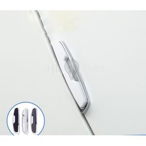 ドア ガード エッジ バンパー 4点セット プロテクター ガード ステッカー 汎用 自動車 カー用品...