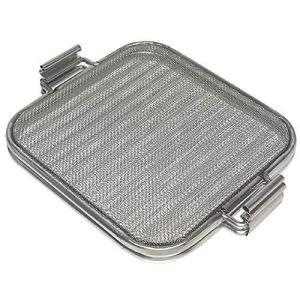 ストリックスデザイン ホットサンドメーカー オーブントースターやグリルでつくるホットサンド ステンレス 15×15cmのパン対応 厚み調節2|thanks-tuhan