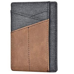 Kinzd カードケース 身分証明書入れ RFIDスキミング防止 薄型 免許証入れ 小さい財布 本革レザー (42-防水素材スプライス型カー|thanks-tuhan