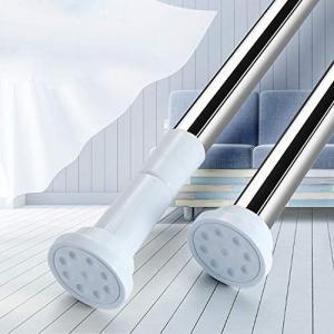 突っ張り棒 伸縮棒 つっぱり棒 強力 幅50-240CM 浴室用ステンレス超強力伸縮棒 取付寸法 55~75cm耐荷重60~15kg|thanks-tuhan