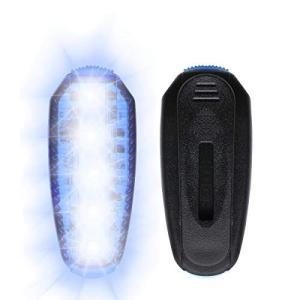 ROCONTRIPランニングライト LED充電式 USBジョギング ライト 夜間安全 ウォーキングライト 充電式 クリップ型 点滅ライト ス|thanks-tuhan