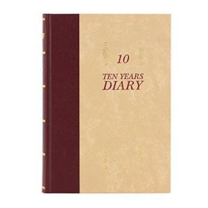 アピカ 日記帳 10年日記 横書き B5 日付け表示あり D313|thanks-tuhan