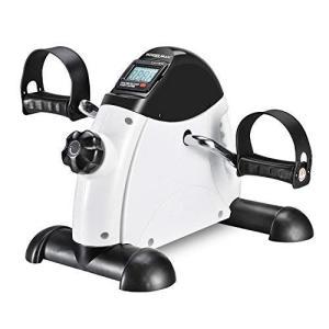 Wonder Maxi フィットネスバイク エアロバイク ミニスピンバイク エアロビクスバイク 有酸素運動 静音 負荷調節 (ホワイト)|thanks-tuhan