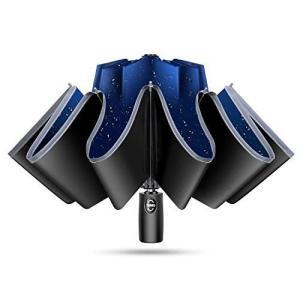 TSUNEO 【傘専門 逆折り式 10本骨】 折りたたみ傘 自動開閉 軽量 メンズ レディース 折り畳み傘 軽量 晴雨兼用 超撥水 梅雨対策|thanks-tuhan