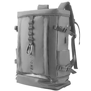 Sendida メンズ リュックサック 大容量 防水 リュック - A4 PC バックパック ナイロン 靴 野球 バット 収納 リュック 人|thanks-tuhan