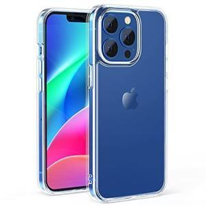 NIMASO ケース iPhone 13 Pro 用 カバー iPhone13 Pro 対応 ケース 強化ガラス 半透明 マットタイプ 指紋 thanks-tuhan