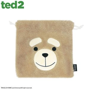 メール便OK TED2 テッド2 コラボ ファーミニ巾着 サンキューマート//03