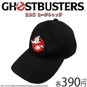 メール便OK GHOSTBUSTERS ゴーストバスターズ コラボ カーブキャップ サンキューマート...