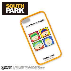 サウスパーク コラボ フチ付クリアiPhone6/6s/7/8/SE2対応ケース サンキューマート|thankyou-mart