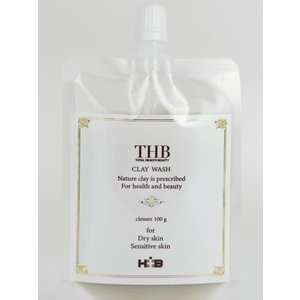 THB クレイウォッシュ 敏感肌・トラブル肌に!W洗顔でメイクも落とせます|thbshop