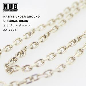 【NATIVE UNDER GROUND】 オリジナルチェーン 60cm / シルバー925|thcraft-official
