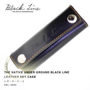 【NUG BLACK LINE】レザーキーケース|thcraft-official