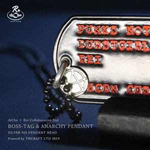 【thCbn】ボスシリーズ第二弾 BOSS-TAG /ミリタリースペック限定版 ドッグタグ ブラック|thcraft-official