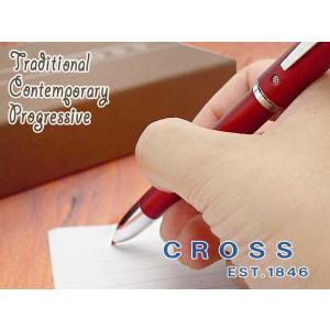 CROSS クロス TECH4 テックフォー ボールペン+シャープペンシル ソフトフィールレッド AT0610-2